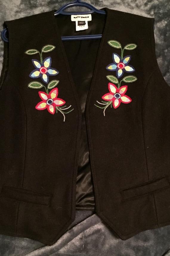 Dene Artisan Embroidered Vest
