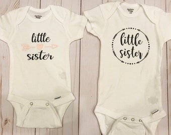 dcf6b8dfb Little sister onesie