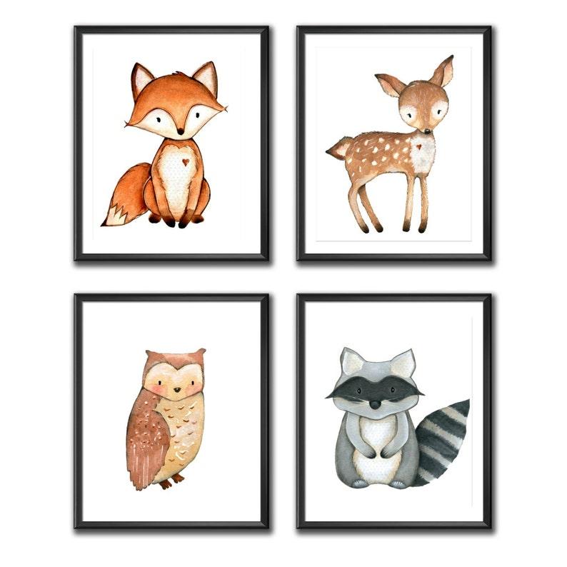 Woodland Nursery Wall Art Owl Print Owl Nursery Decor Owl Printable Woodland Nursery Decor Instant Download Rustic Nursery Decor