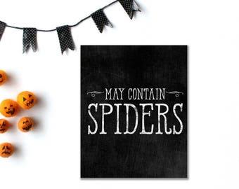 Halloween Digital, Spooky Halloween Decor, Halloween Props, Halloween Spider, Printable Halloween, Haloween, Halloween Art