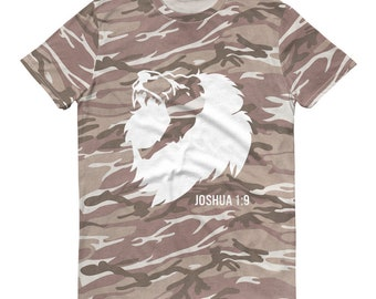 1ee4edc02aaf Short-sleeved camouflage t-shirt