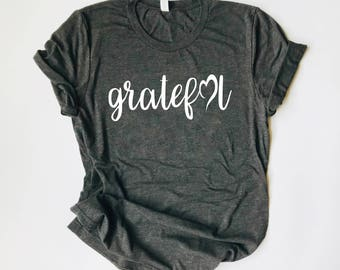 Thanksgiving T Shirts For Women. Thanksgiving Shirt. Thanksgiving. Thankful Shirt. Grateful Shirt. Thanksgiving T-Shirt. Fall Shirt.