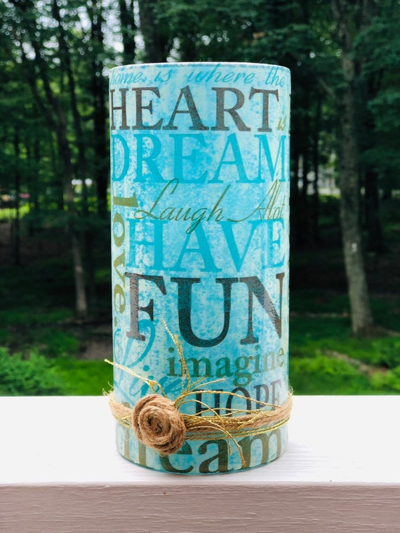 Have fun and dream lighted jar, lighted jars, lighted bottles, jar lights