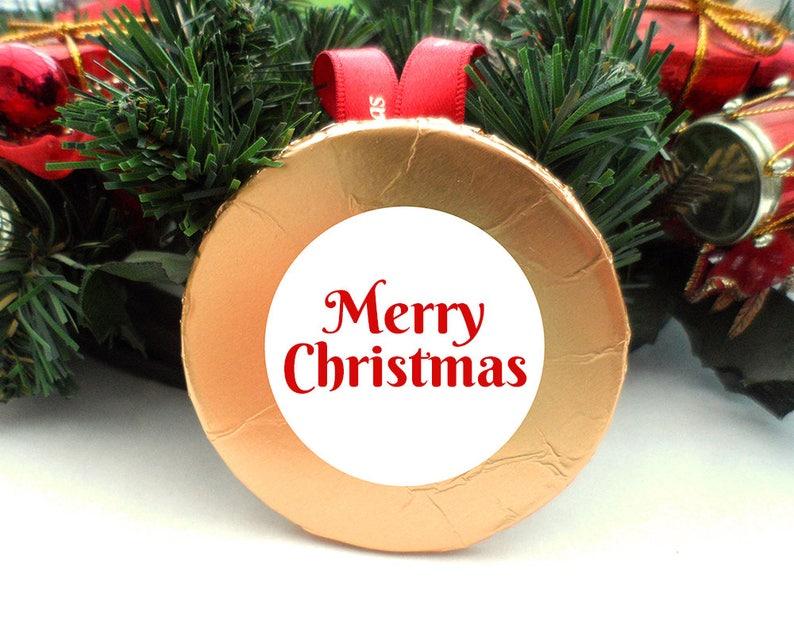Chocolate Christmas Ornament Edible Ornament Large Hanging image 0