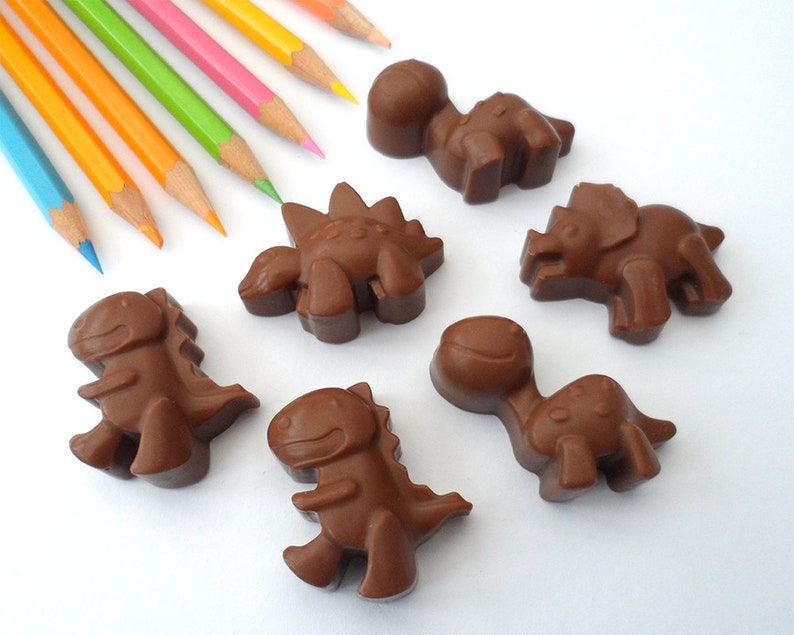 Chocolate Dinosaurs Chocolate Party Favours Party Bag image 0