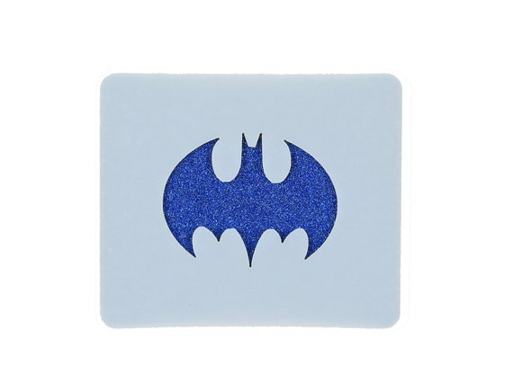 Batman Logo Small Face Painting Stencil 7cm X 6cm 190micron Etsy