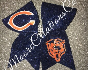 Chicago bears cheer bow