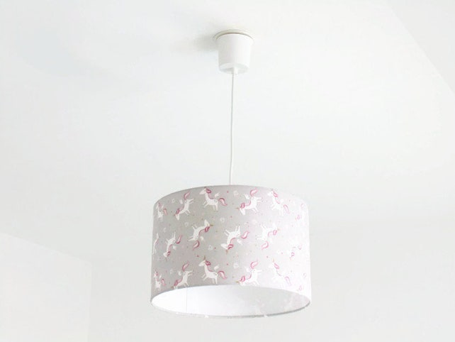 Kronleuchter Mit Lampenschirm ~ Aussetzung lampenschirm einhörner sterne kronleuchter decke etsy