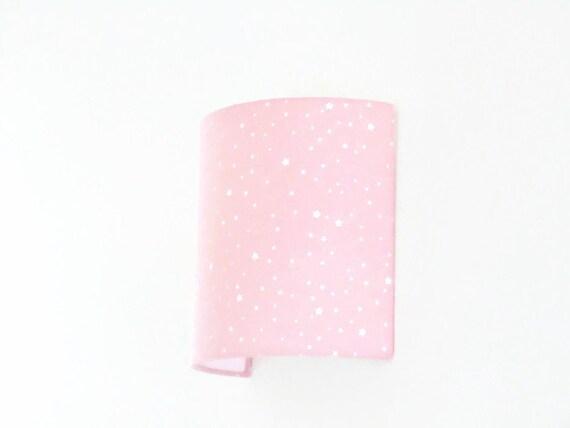Applique murale rose étoiles blanches demi cylindre demi-lune | Etsy