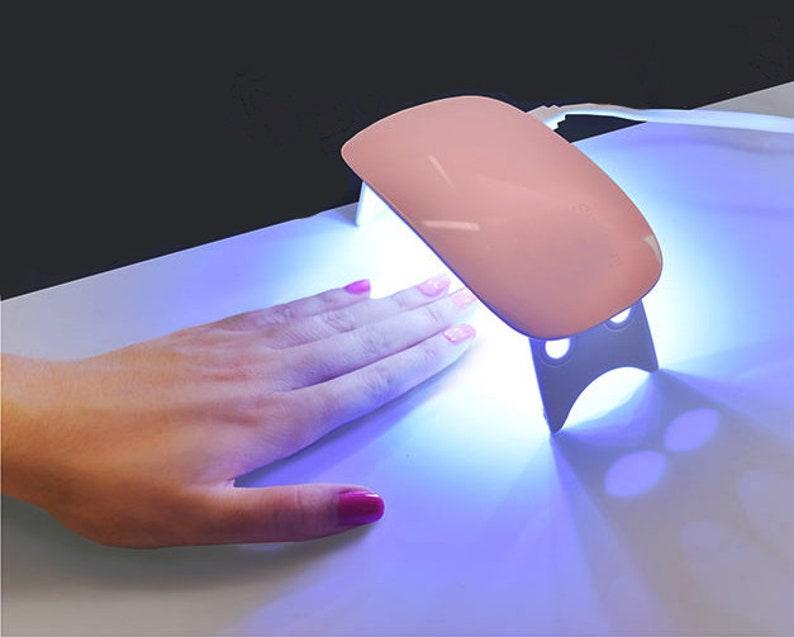 6w UV LED Lamp Nail Dryer Portable USB Cable/ Led Nail Lamp   Etsy