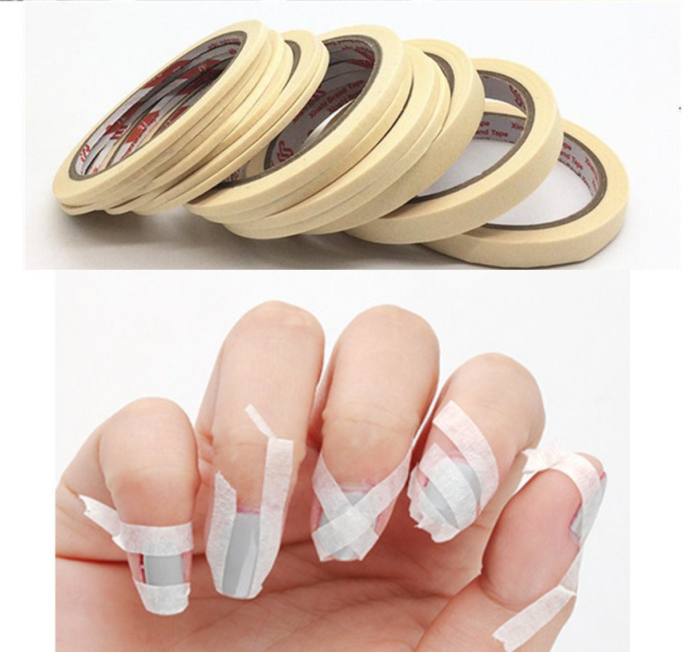 Nail Art Using Painters Tape: French Nail Tape/ Nail Art Painting Stripes Assist Supply