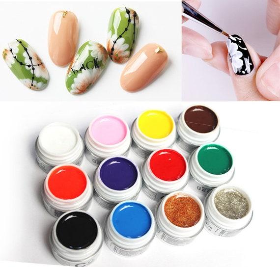Paint gel get nails