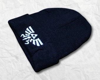 66e0b62c6e3 White Hylian Crest - Winter Hat