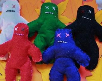 Voodoo (poppet) dolls