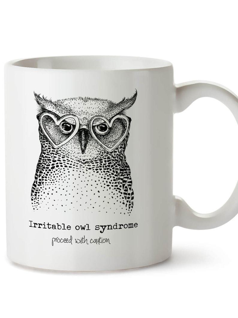 Etsy Irritable Owl Syndrome Mug - Image credit LiveCreateGrowGifts