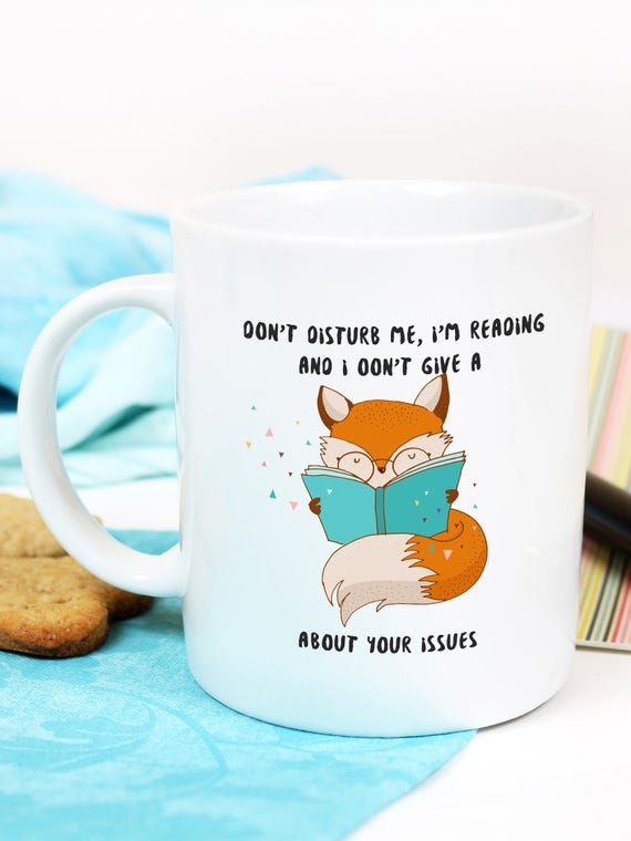 Fox Coffee Mug Funny Mug With Fox Funny Fox Mug Cute Fox Etsy