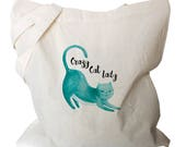 Canvas Tote Bag - Cat Tot...
