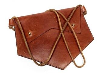 7c6fa9cf6eb2 60s Hand made genuine leather bag