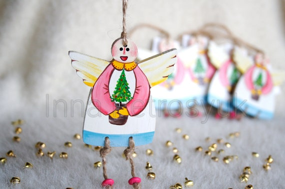 image 0 - Handmade Angels Christmas Decorations
