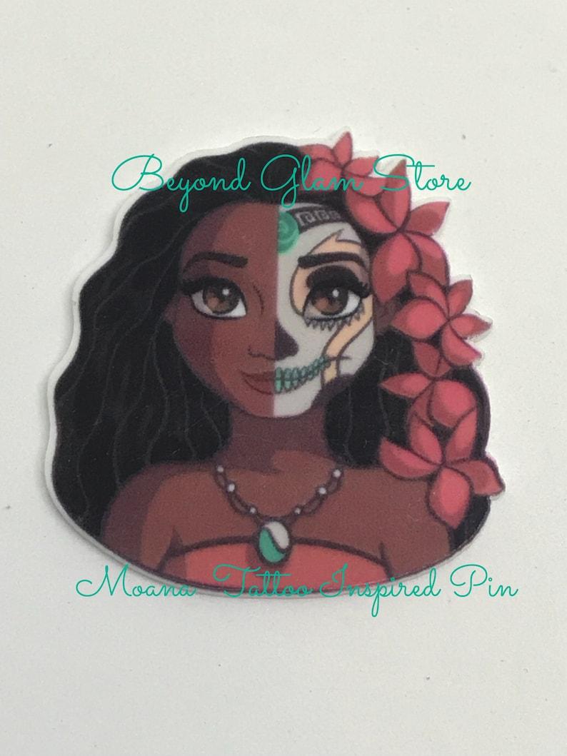Elijah/'s Disney Inspired Moana  broochkawaii Moana Brooch moana inspired pin tattoo moana