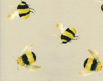 Oilcloth Tablecloth Pvc Tablecloth - 1567 Bumble Bee -  Matt Finish.