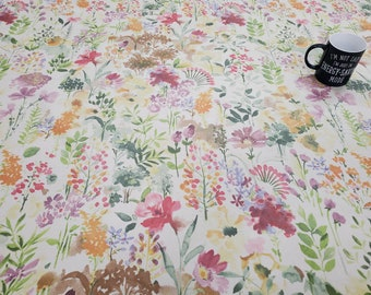 Pvc Tablecloth  / Oilcloth-1608 Aylesbury- Matt PVC Tablecloth - Wipeclean Tablecloth