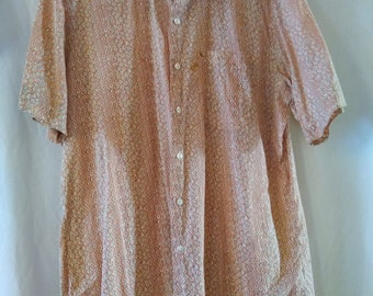Vintage Maus & Hoffman Men's short sleeve shirt