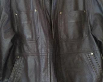 Vintage Leather Men's Jacket