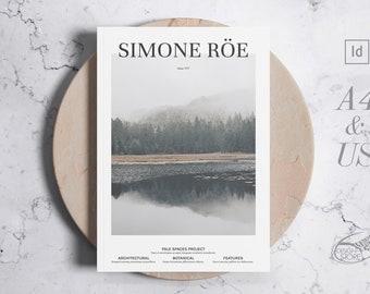 SR Magazine Template / Brochure Indesign Template / Printable or Digital Publication / A4 & US Multipurpose Template / Instant Download
