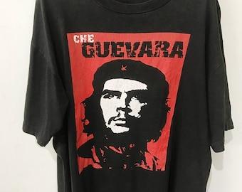 che guevara t shirt etsyvintage 90s che guevara t shirt size xl free shipping
