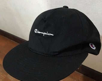 178cf88982a Vintage Champion Snapback Hats Free Shipping Retro Champion Product Logo On  Side Hat Dad Hat Summer Hat Sport Hat