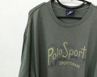 Vintage Polo Sport-Shirt Size XXL Free Shipping Polo Sportman Rare by Ralph  Lauren made in usa 08e462989a2