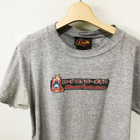 Vintage 90s World Industries Shirt Size S Free Shi