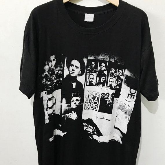 Vintage 1988 Depeche Mode Shirt Size M-L Free Ship