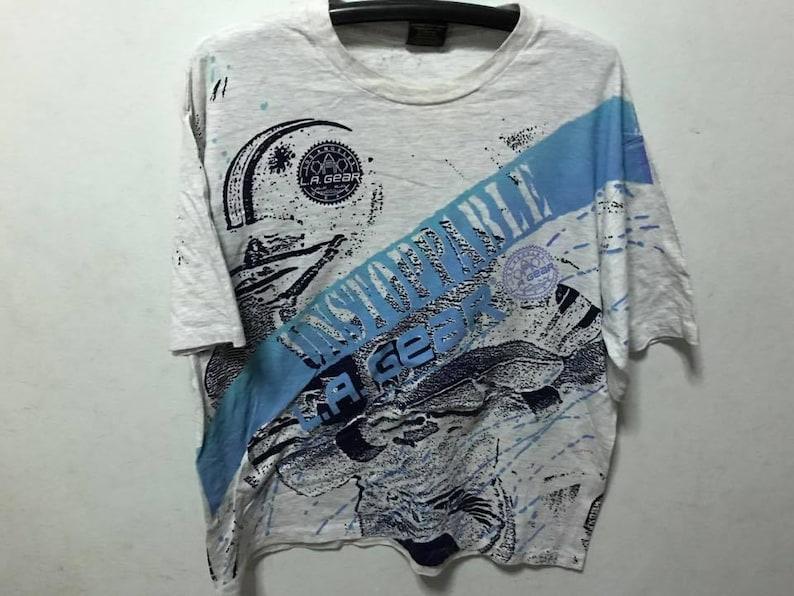 bf29e79657 Vintage LA GEAR Shirt Size L Free Shipping Vintage Tee Vintage Clothing 90s  Clothing Streetwear Fashion