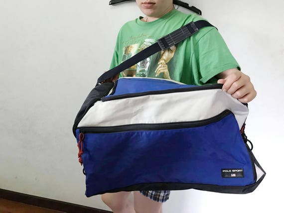 243302473db Vintage Polo Sport Duffel Bag   Free Shipping Polo Sport by   Etsy