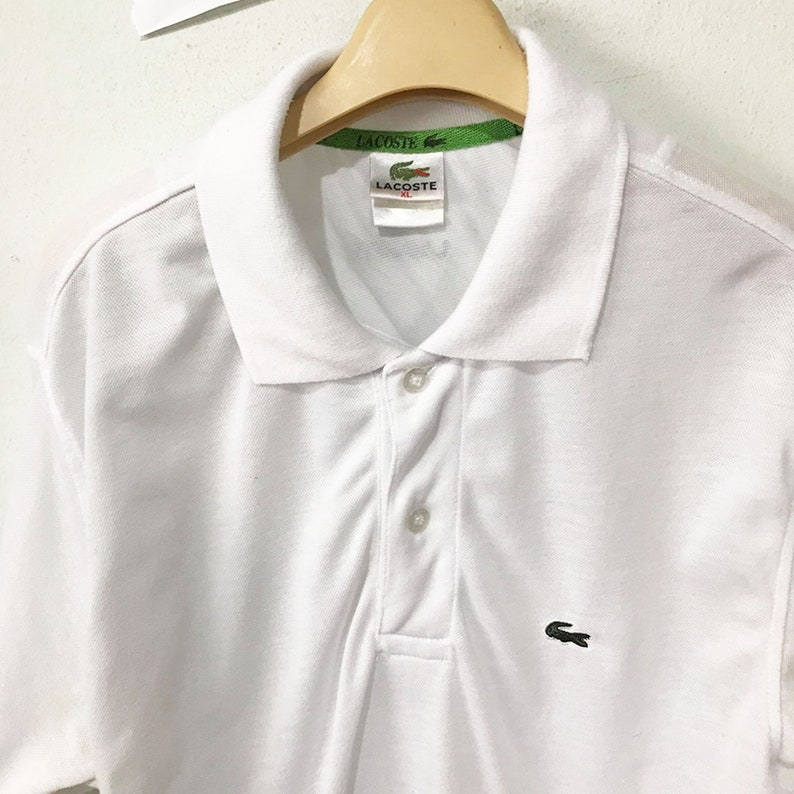 5ec4c529005 Vintage Lacoste Polos Size XL Free Shipping 90s Lacoste Shirt