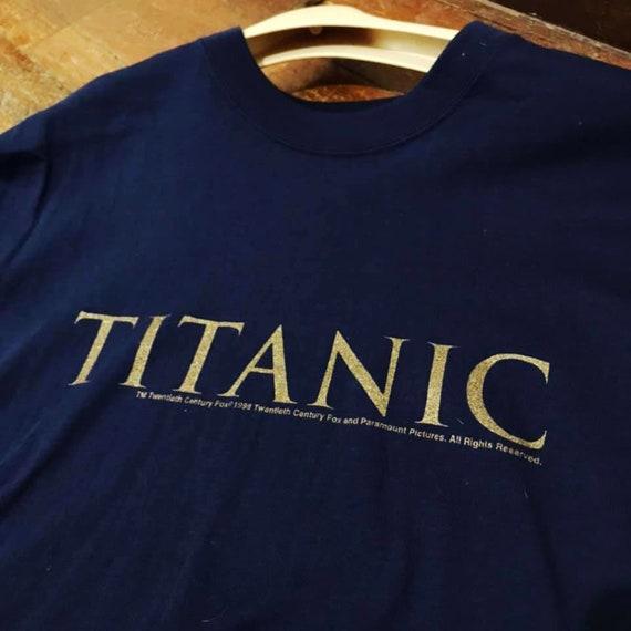 Vintage 1998 Titanic Shirt Size L Free Shipping
