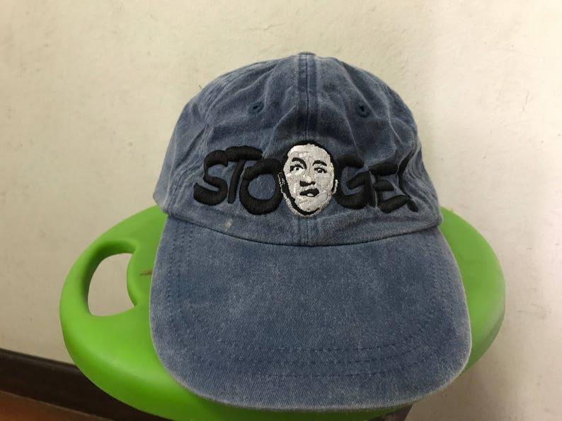 323e5da54824 Vintage The Three Stooges Hat Free Shipping 90s Movie Hat