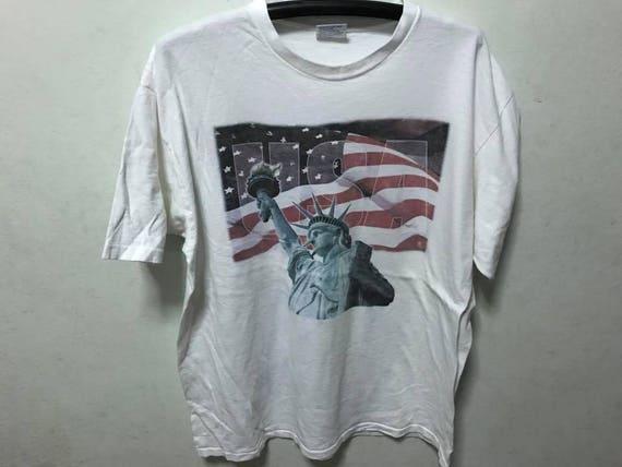 Statuette de Liberty chemise taille XL envoi gratuit USA New York City chemise