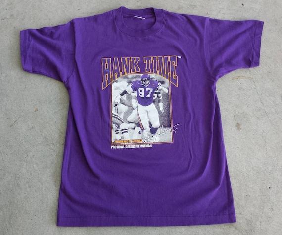 Vintage 1990 s NFL Minnesota Vikings Henry Thomas  df150880f