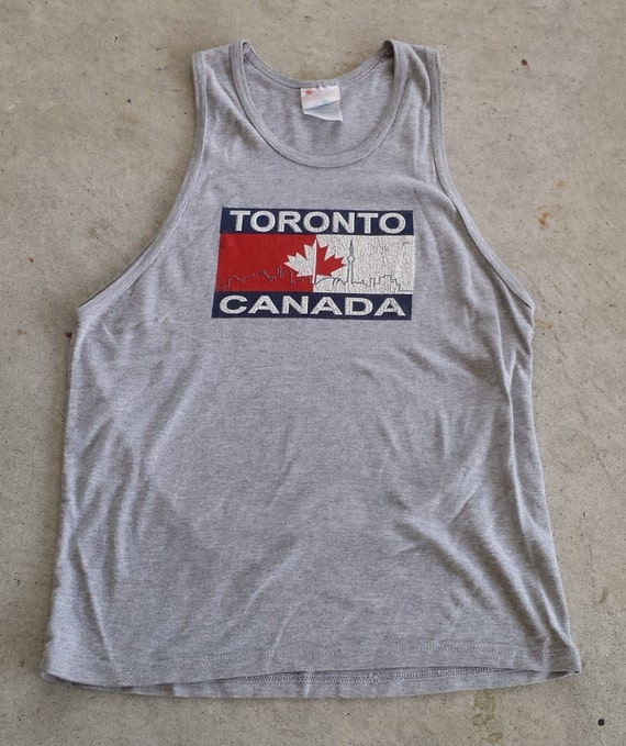 2e098d16c Vintage 1990 s Toronto Canada Tank Top no size on tag see