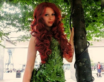 Poison Ivy Cosplay / Costume Handmade!  sc 1 st  Etsy : poison ivy dog costume  - Germanpascual.Com