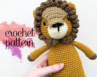 Amigurumi Lion Crochet Pattern - Linus the Lion