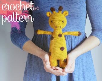 Amigurumi Giraffe Crochet Pattern - Gatsby the Giraffe