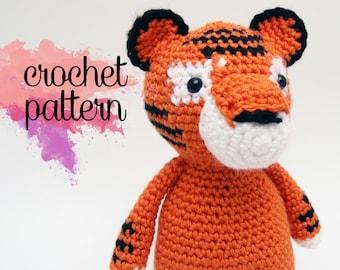 Amigurumi Tiger Crochet Pattern - Tybalt the Tiger