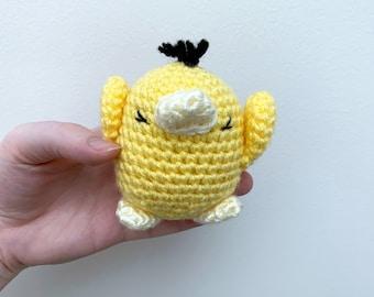 Psyduck Inspired Crochet Plush | Psyduck, Pokemon, Crochet Doll, Pokemon Plushie | Ready to Ship