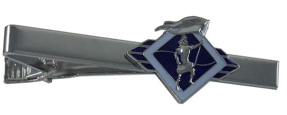 6722cf1c6ab1 Captain Moroni Blue tie bar | Etsy