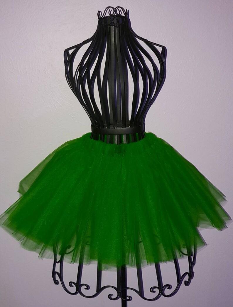 Above the Knee Many Colors Available Tulle Skirt Plus Size Available Mini Tulle Skirt Bachelorette Tutu Adult Tutu