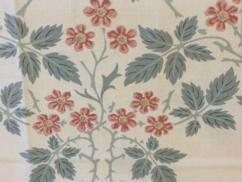 Makeup Case 7425\\2 Cushion Purse Bag William Morris Design Re-upholster -Pouch Vintage  Sanderson Fabric Sampler BLACKBERRY